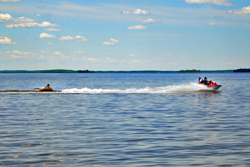 Curtis and the Manistique Lakes are offers over 20,000 acres of water to enjoy.  This is the ultimate get-a-way!